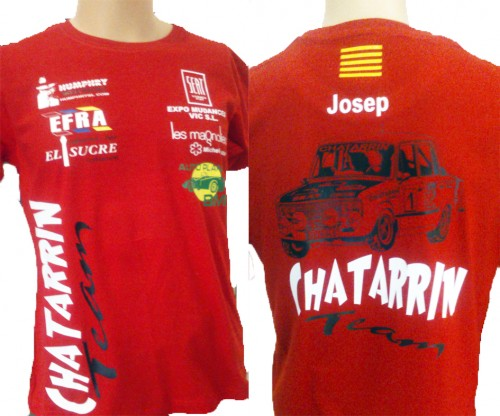 CHATARRIN TEAM CAMISETA